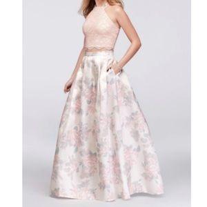 Cute Floral Prom Dress